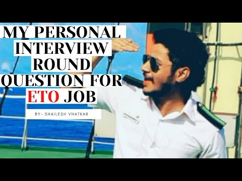 MY PERSONAL INTERVIEW ROUND QUESTIONS FOR ETO JOBS. - YouTube