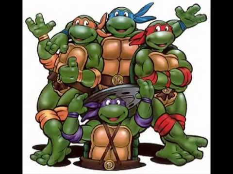 Teenage Mutant Ninja Turtles 1987 Cartoon Tv Theme Remixed