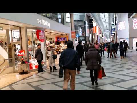 Osaka Downtown walks