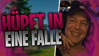 MONTE hüpft in eine Falle | KAMOLRF findet eine Ehrenbanane | Fortnite Highlights Deutsch