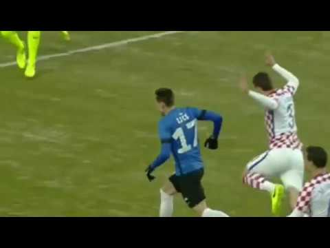Estonia - Croatia 3-0 Goals and Highlights 28/03/2017