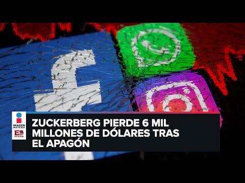 Facebook, Instagram y WhatsApp sufren caída global por más de seis horas
