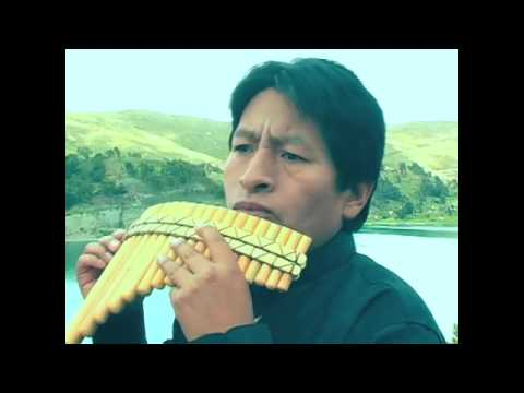 Bolivian Pan Flute player