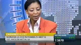 ArcelorMittal SA Annual Results with Nonkululeko Nyembezi-Heita