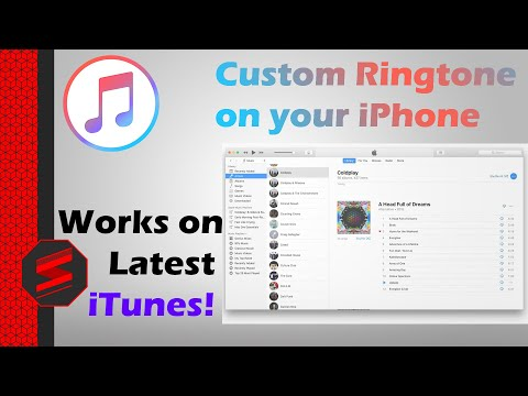How To Set Custom Ringtone on iPhone (iTunes 12.9 also) - SNYTECHHD
