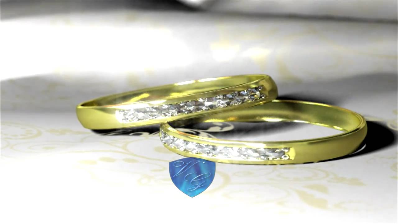 02c986ff795c Video ejemplo de anillos de boda y de compromiso - YouTube