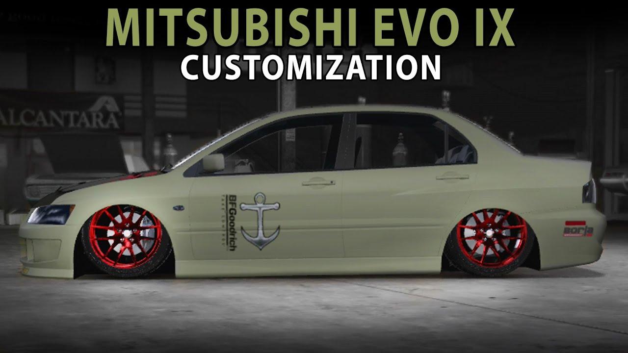 2016 Lancer Evolution >> Midnight Club LA - Mitsubishi EVO IX (Customization) - YouTube