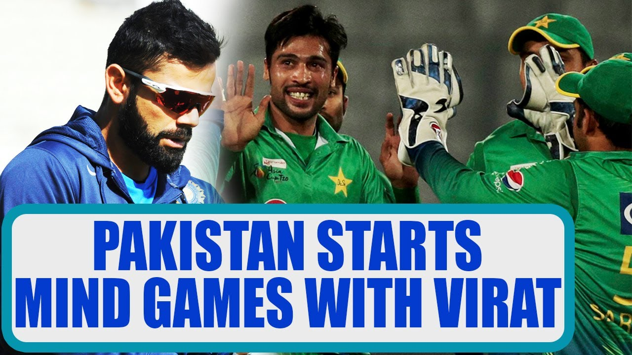 ICC Champions trophy: Mohammad Amir starts mind games with ...