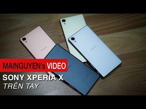 Trên tay Sony Xperia X - Sự khác biệt đến từ Sony