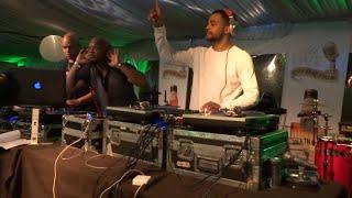 DJ NABS DJ Jelly DJ JayCee at #ATLliveOnThePark