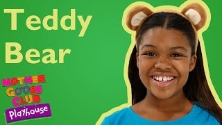 Teddy Bear, Teddy Bear | Mother Goose Club Playhouse Nursery Rhymes