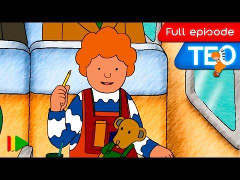 TEO (English) - 32 - Teo travels by plane
