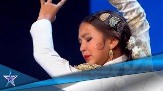 Tiene 9 AÑOS y es una DEDICADA BAILARINA de FLAMENCO | Audiciones 6 | Got Talent España 5 (2019)