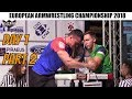 European Armwrestling Championship 2018 ( Left hand Junior Girls, Boys & Youth Men , Women)
