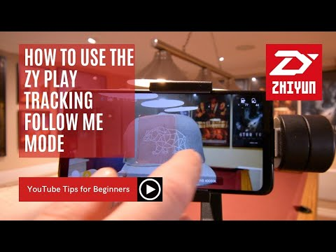 How to use the Zhiyun ZY Play Tracking 🎯 Follow me mode for the Smooth 4 Gimbal | Thompson Tutorial