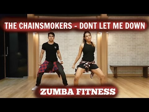 The Chainsmokers – Don't Let Me Down ft. Daya| Zumba Fitness | Padmavati Iyengar & Aadil Khan