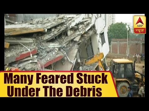Noida Extension building collapse: Many feared stuck under the debris