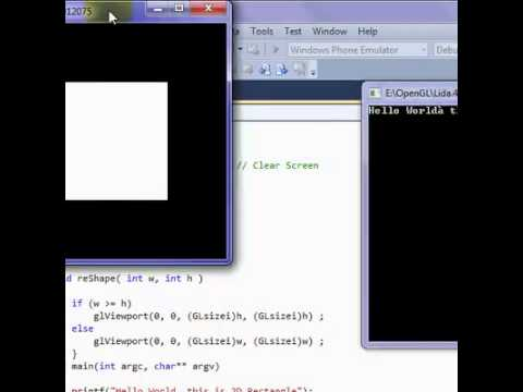 Tutorial 06 ReShape Callback Function