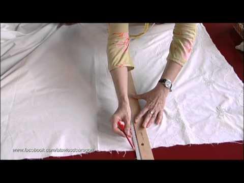 TRUCO - Cómo convertir una vieja sábana en una enagua - ATAVÍOS thumbnail