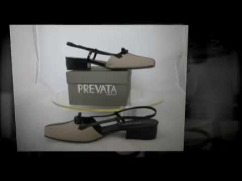 SOLD On EBAY / PREVATA Ladies Shoes -size 8-1/2 AAA
