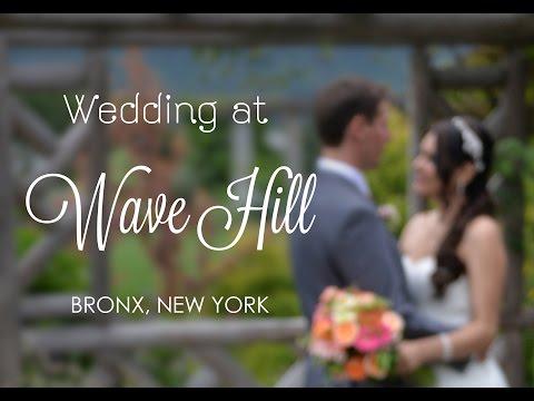 Wave Hill Wedding, Bronx NY