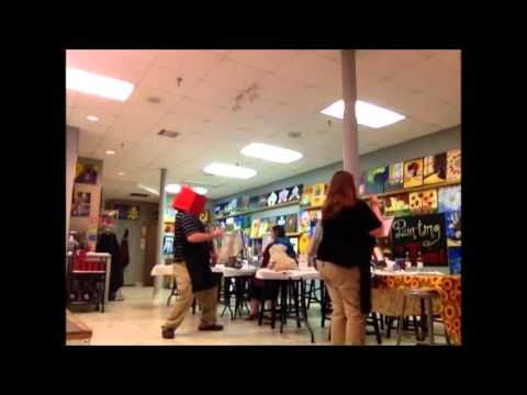 Harlem Shake at Painting with a Twist