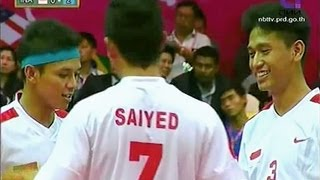 THAILAND - INDONESIA Sepak Takraw King's Cup 2013 Final Match Men's Team (C)