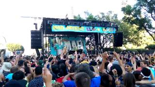 CASHMERE CAT B2B TRIPPY TURTLE @ MAD DECENT BLOCK PARTY LA - 9/13/14 - LA CENTER STUDIOS