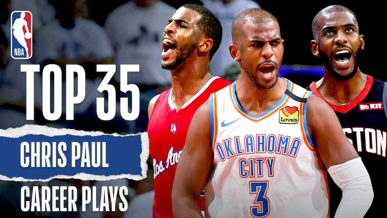 CP3's TOP 35 | Career Plays