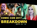 Comic con 2017 justice league avengers infinity war stranger things season 2 thor ragnarok mp3