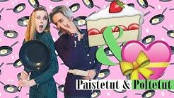 Vegan Valentine's Day / Vegaaninen Ystävänpäivä PAISTETUT & POLTETUT