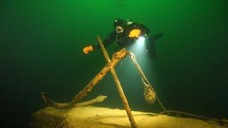 Синявка таинственная. Дайвинг в озере Янтарном. Оно же Синявинское. Оно же карьер