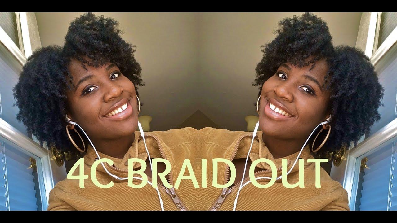 4c natural hair braid
