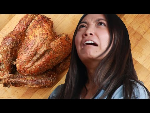 Thumbnail: We Made Terrible Cooks Carve A Turkey