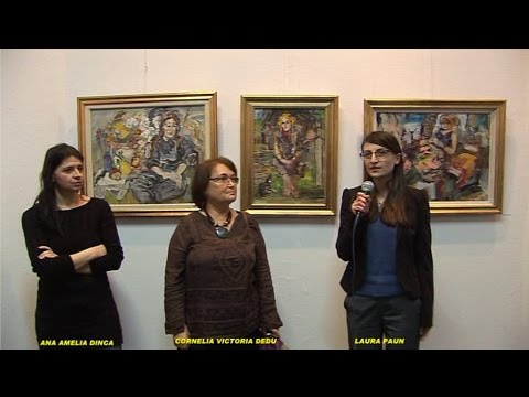 "CORNELIA VICTORIA DEDU - Vern. Exp.pers."" EQUINOX"" ELITE ART GALLERY"