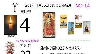 数秘タロット NO-14  新月 426 thumbnail