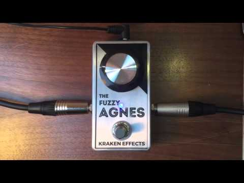 Fuzzy Agnes demo with bass