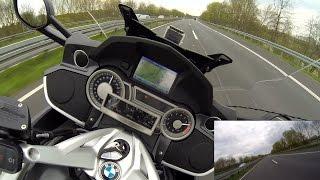Highspeed-Test - Gimbal an BMW K1600 GT --- Tankbefestigung