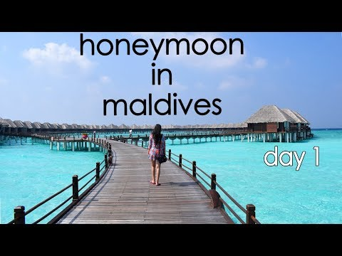 Two Indian On Honeymoon in Maldives | Travel Vlog : From Delhi To Male Day 1