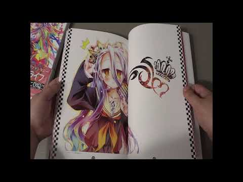 [UNBOXING] No Game No Life Artbook