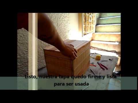 Caja de herramientas hecha con maderas recicladas de - Cajas de erramientas ...