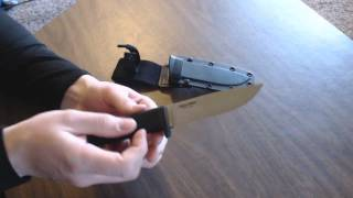 cold steel master hunter knife review best hunting knife?