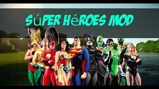 SUPER HEROES MOD PARA MINECRAFT PE 0.14.0