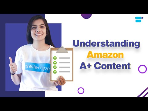 Amazon A + Content (Enhanced Brand Content) - EBC Benefits & Guidelines [2020]