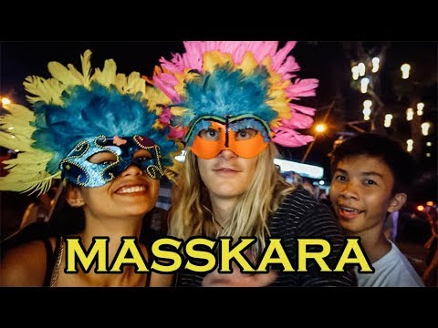 AMERICAN at MassKara Festival 2018 - Bacolod City // Philippines Travel Vlog