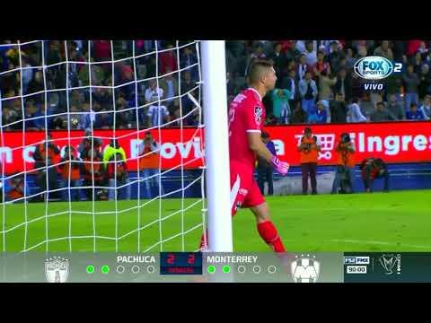 Tanda de penales | Pachuca 2 - 3 Monterrey | Copa MX