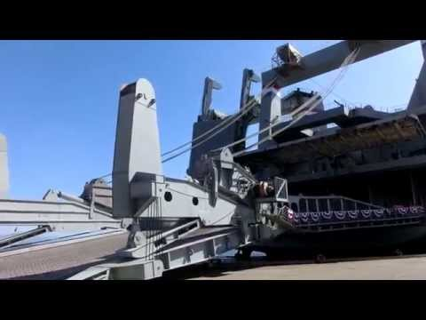 Transport Ship MV CAPE HUDSON, AKR 5066 Part-1  Fleet Week SF