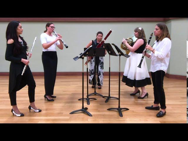 KHAOS Wind Quintet -  Startin' Sumthin', by Jeff Scott
