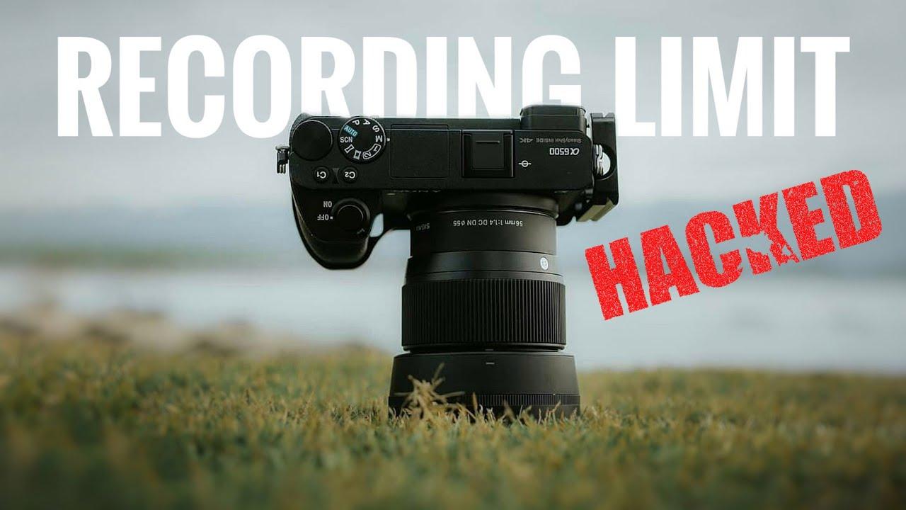 Länger als 30 Minuten filmen mit Sony Kameras: Aufnahmelimit Hack!