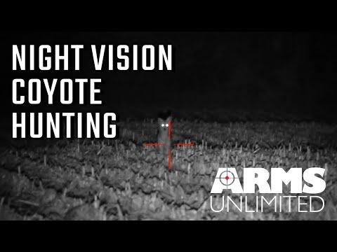 Night Vision Coyote Predator Hunt | 7 Kills